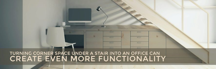 Under Stairs Office hidden workspace: 5 ideas for your under stair home office