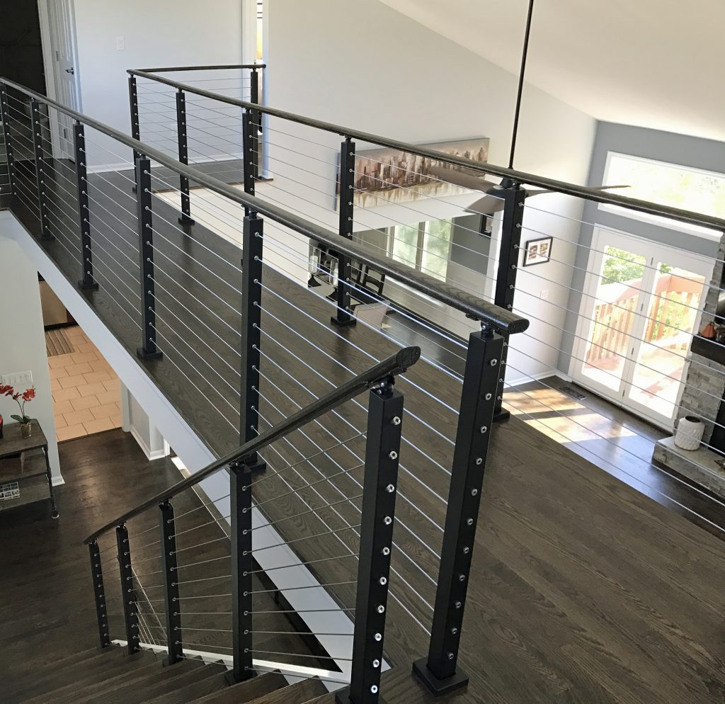 Project 218 Transitions With Cable Railing