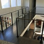 Transitions with Cable Railing