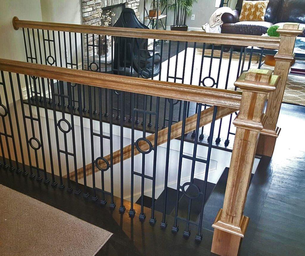 16 2 1 Plain Straight Iron Baluster Stairsupplies
