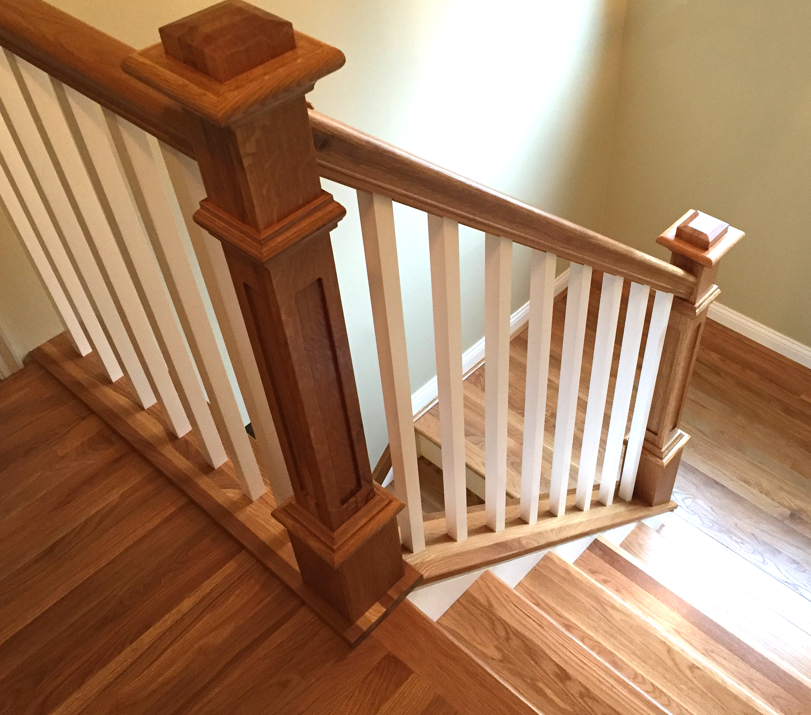 Design Handrails For Stairs stair parts handrails railing balusters treads newels plowed handrail