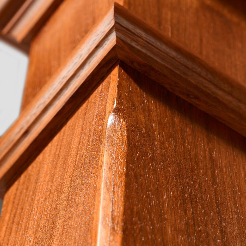 4626 Chamfered Box Newel Stairsupplies