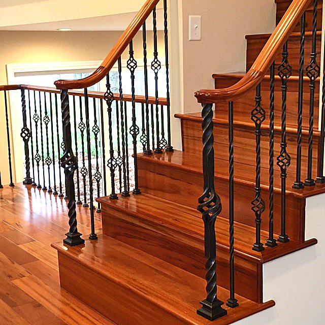 16 1 4 Double Basket Iron Baluster Stairsupplies
