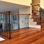 Wrought Iron Newels