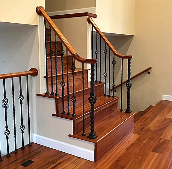 StairSuppliesTM Twist Series Iron Balusters