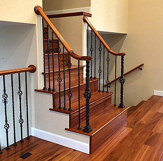 StairSuppliesTM Twist Series Iron Balusters