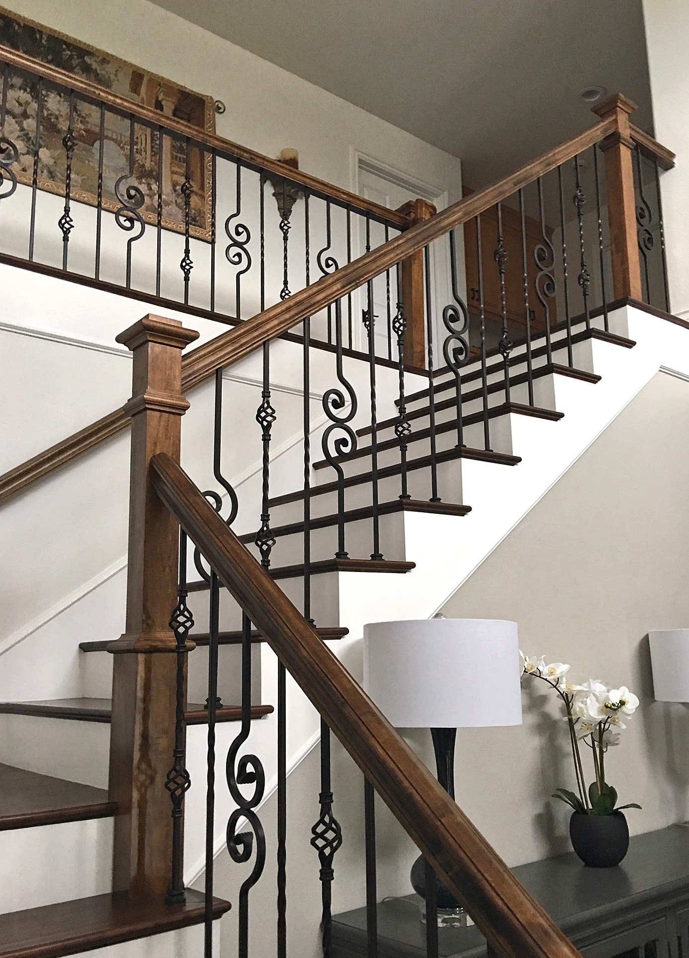 Project 242 Blended Iron Baluster Designs Stairsupplies