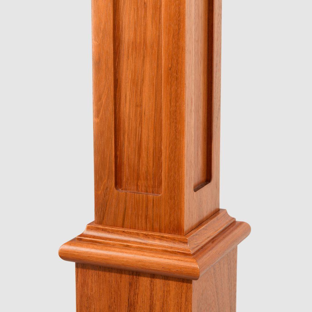 4991 recessed panel box newel - stairsupplies™