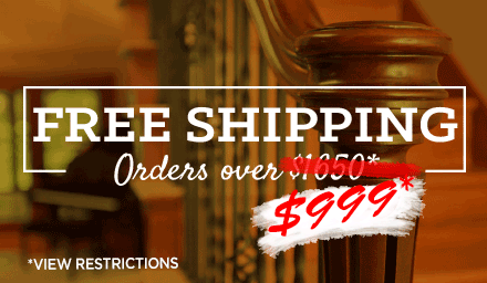 Free Shipping Over $999