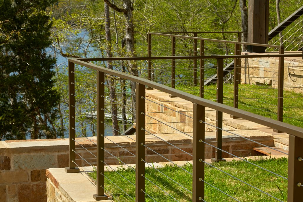 Project 252 Flat Top Cable Railing Posts Stairsupplies