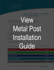 Metal Post Installation Guide Thumbnail