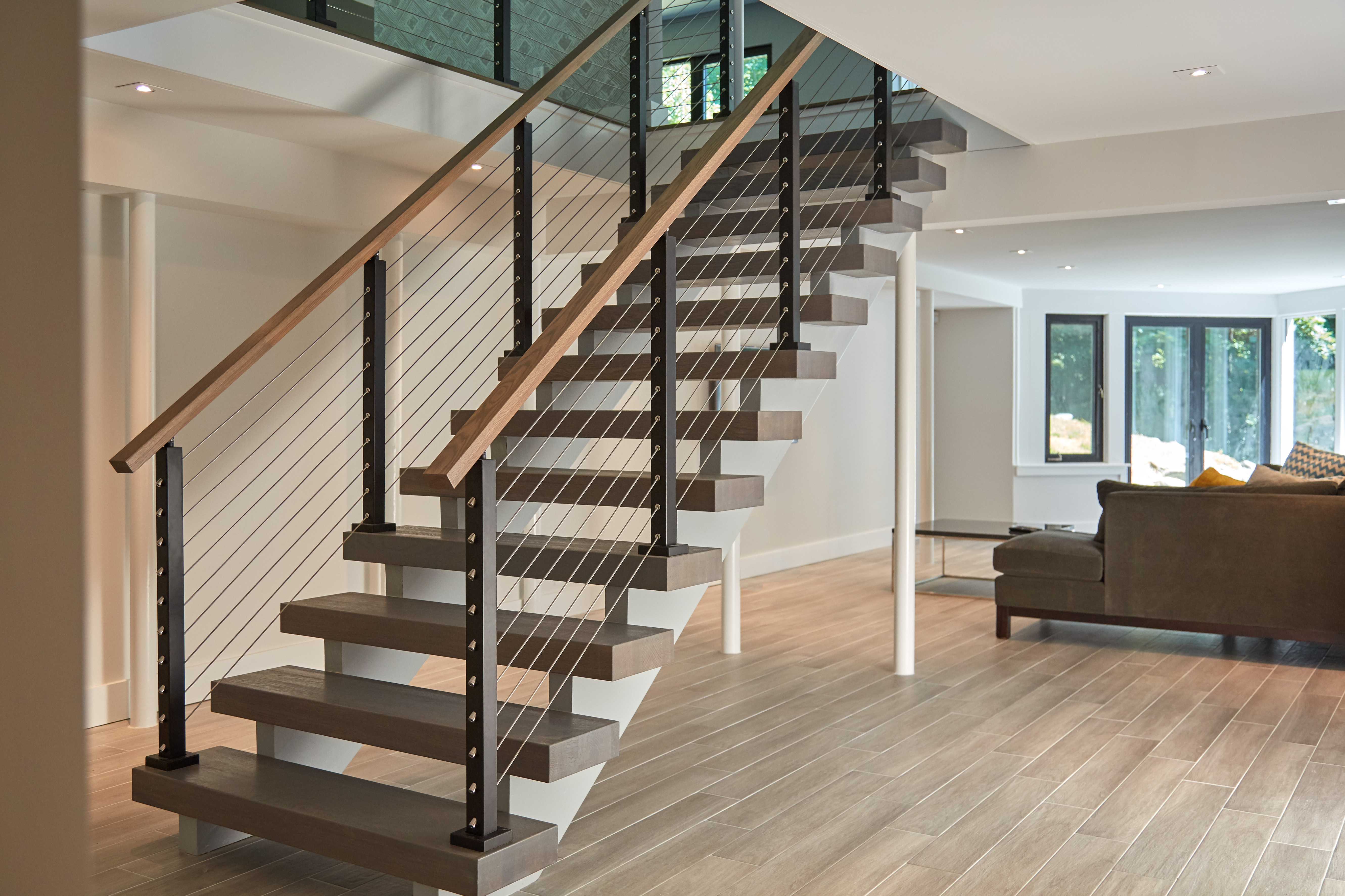 Project 255 Aluminum Cable Railing Posts Stairsupplies