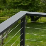 Black Cable Railing