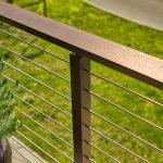 Copper Vein Beverage Handrail