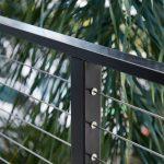 Fluro Black Cable Railing